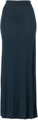 Topshop Split Back Maxi Skirt