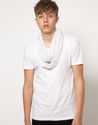 Unconditional Inserted Scarf T-Shirt