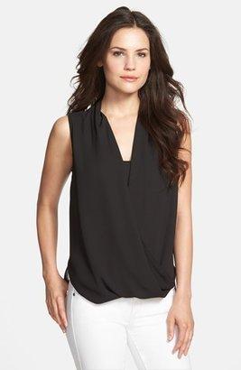 Women's Vince Camuto Faux Wrap Shirttail Blouse $79 thestylecure.com