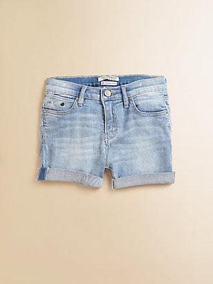 Scotch Shrunk Girl's Faded Denim Shorts