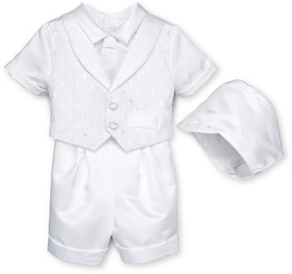 Keepsake Christening Shorts Set - Boys newborn-12m