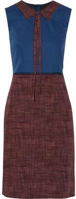 Marc Jacobs Printed wool-twill dress