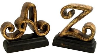 A-to-z book ends