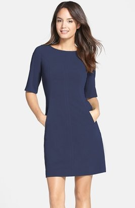 Petite Women's Tahari Seamed A-Line Dress $128 thestylecure.com