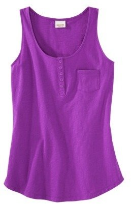 Mossimo Juniors Scoop Neck Tank - Assorted Colors