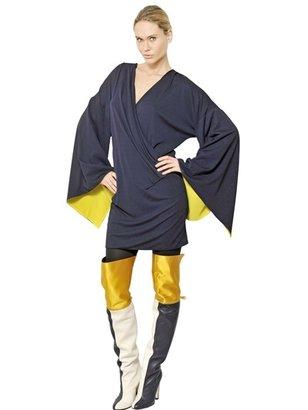 Vionnet Viscose Jersey Kimono Dress
