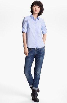 Rag and Bone rag & bone 'Boyd' Shirt Blue X-Small