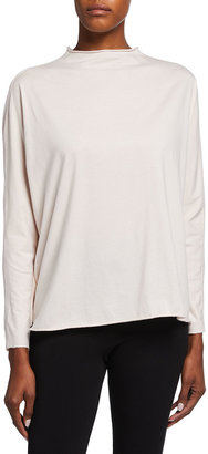 Frank And Eileen Long-Sleeve Funnel-Neck Tee