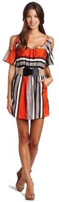 My Michelle Juniors Cold Shoulder Dress