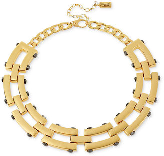 Kenneth Cole New York Necklace, Gold-Tone Geometric Collar Necklace
