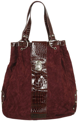 Forever 21 Glaston Velvet Shoulder Bag