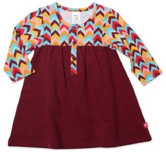Zutano Baby-Girls Infant Zig Zag Henley Dress