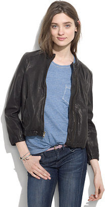 Madewell Shrunken Leather Bomber