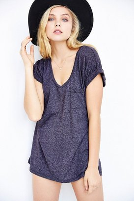 Truly Madly Deeply Scoopneck Slouch Pocket Tee