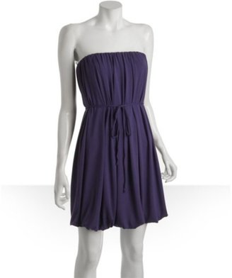 Rachel Pally petunia jersey 'Eos' pleated belted strapless dress