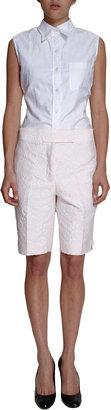 Thom Browne Floral Jacquard Bermuda Shorts