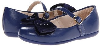 Pampili 188152 Bailarina (Toddler) (Navy) - Footwear