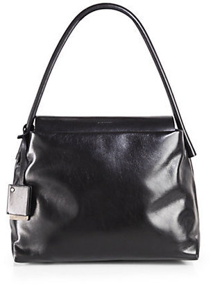 Jil Sander Powell Leather Shoulder Bag