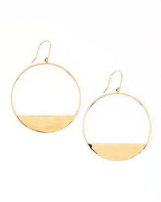 Lana Medium 14k Gold Eclipse Earrings