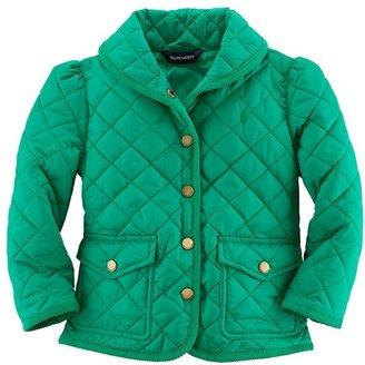 Ralph Lauren Quilted Jacket (Toddler Girls)