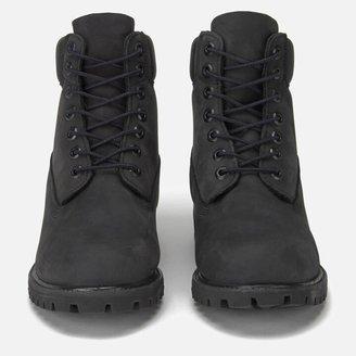 Timberland Men's 6 Inch Premium Waterproof Boots - Black