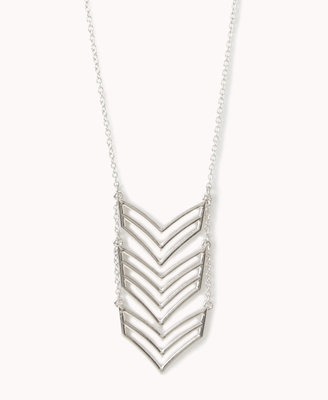 Forever 21 Cascading Chevron Necklace