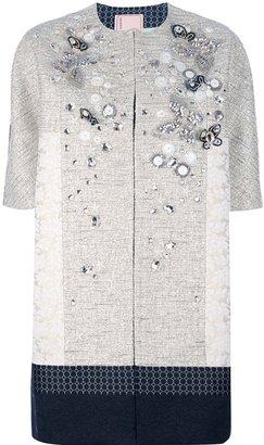 Antonio Marras jewel embellished coat