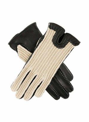 Dents Kelly Women's Crochet Back Driving Gloves BLACK M