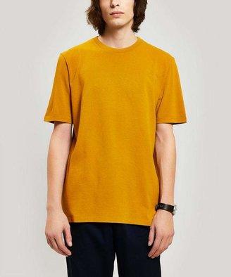 Folk Contrast Sleeve Cotton T-Shirt