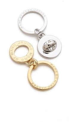 Marc by Marc Jacobs Double Turnlock Keychain