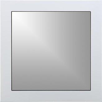 Crate & Barrel Mode White Mirror