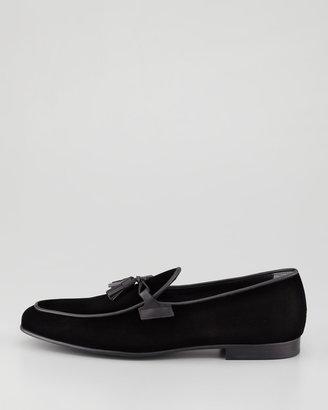 Tom Ford Orson Velvet Tassel Loafer
