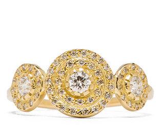 Ileana Makri Triple Solitaire Ring