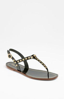 Prada Studded Thong Sandal