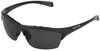 Native Eyewear - Endura (Gunmetal/Gray Polarized Lens) - Eyewear