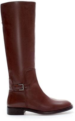 Zara Leather Riding Boot