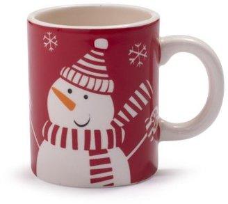 Sur La Table Snowman Mug