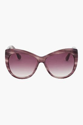 Elizabeth and James Purple tortoiseshell Crescent sunglasses