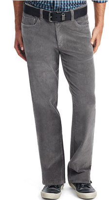 Kenneth Cole Reaction Pants, Solid Straight Leg Corduroys