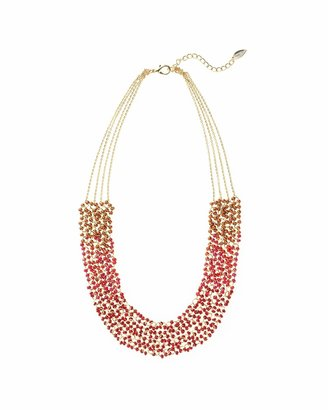 Coldwater Creek Ombré glow tiered necklace