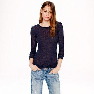 J.Crew Linen rib-knit sweater