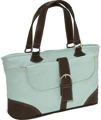 Piel Purse with Front Pocket