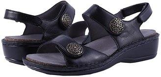 Aravon Candace (Black) Women's Sandals