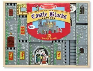 Melissa & Doug Castle Blocks Play Set