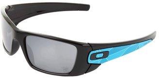 Oakley D-LOCOG Fuel Cell (Polished Black/Black Iridium) - Eyewear