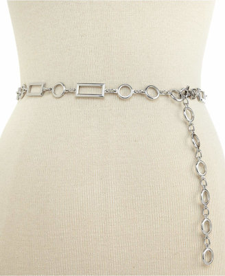 Inc International Concepts Rectangles and Circles Chain Belt, Created for Macy's $34.50 thestylecure.com