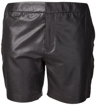 J Brand lamb leather short