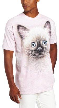 The Mountain Men's Black And Tan Kitten T-Shirt