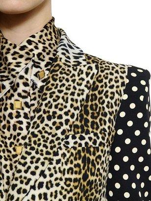 Ungaro Printed Cady Single Button Jacket