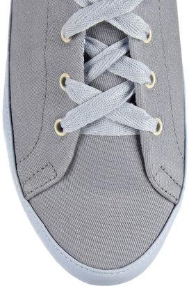 Charles Philip Shanghai Bianca canvas sneakers